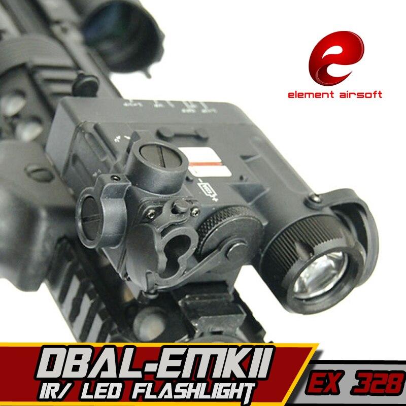 Elemento Airsoft Torcia Elettrica Lampada a Infrarossi Laser Arsoft Ha Condotto La Torcia DBAL-D2 lazer Lanterna Per La Caccia Armi Softair Tattico della Pistola Della Luce