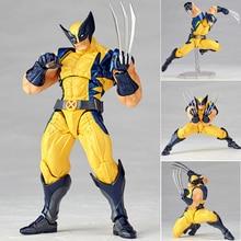 Marvel Super Hero X-Men Wolverine Logan Howlett Action Figures BJD Doll Toys 15cm