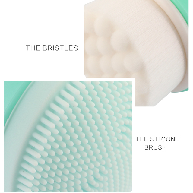 MAANG Face Wash Brushes Soft Facial Cleaner Design Health Beauty Silica Gel Cleaning Your Nose Effectively Be Fixed On The Shelf 4