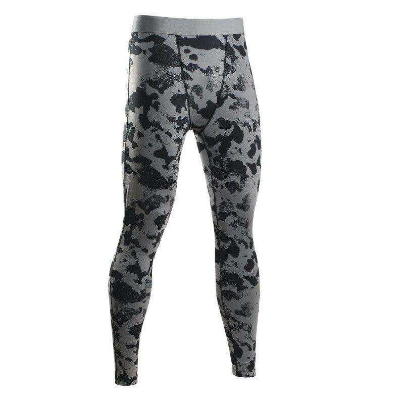 Compressie Leggings Voor Mannen Camouflage Broek Slim Fit Oefening Panty Lange Pant Broek Mannelijke Fitness Skinny Kleding