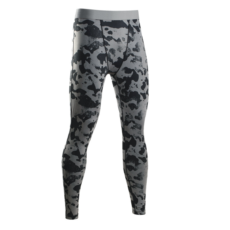 Compression Leggings For Men Camouflage Pants <font><b>Slim</b></font> Fit Exercise Tights Long Pant Trousers Male Fitness Skinny Clothing
