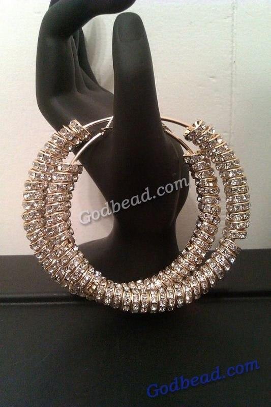 65 Lovely Pink Nail Art Ideas: 65 Lovely Hoop Earrings Large Gold Basketball Wives