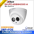 Dahua mayor DH-IPC-HDW4233C-A Micrófono Incorporado Pequeño IR de Red Domo IP Cámara de 2MP HD POE WDR H.265/H.264 IPC-HDW4233C-A