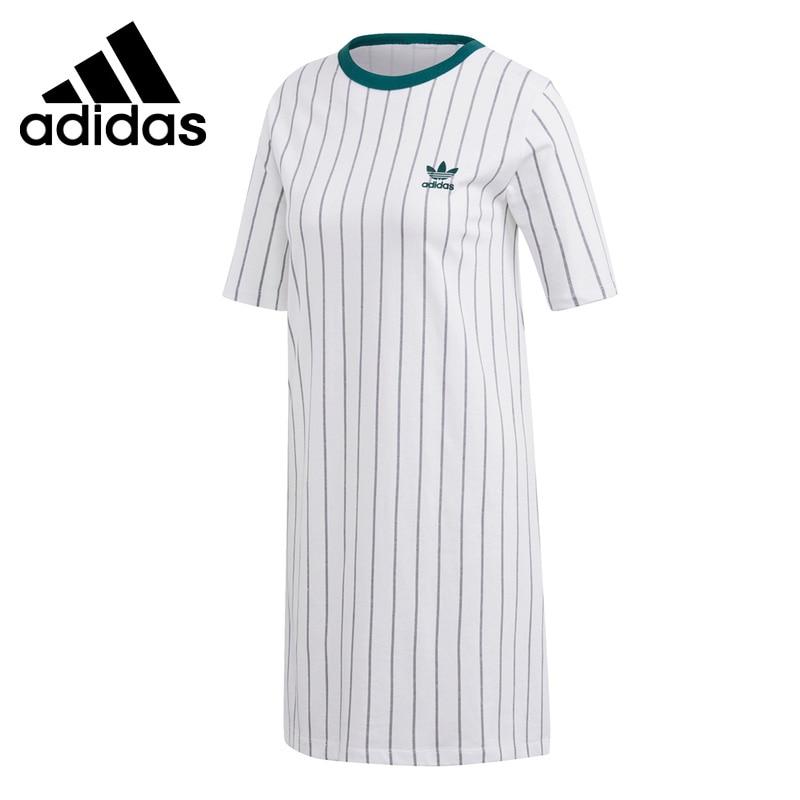 Original New Arrival Adidas Originals TEE DRESS Women s Dress Sportswear