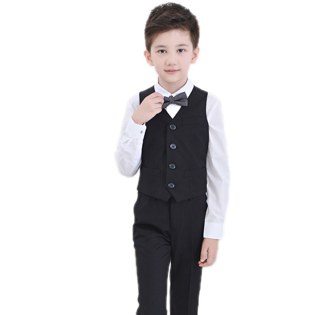 2018 New Boys Formal Suit Autumn Spring Boys Wedding Clothes Party