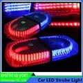 Caminhão do carro 12 V Beacon Aviso 240 LED Strobe Polícia de Emergência Luzes Bar Brilhante Âmbar Tráfego Flasher Lâmpada Magnética Base