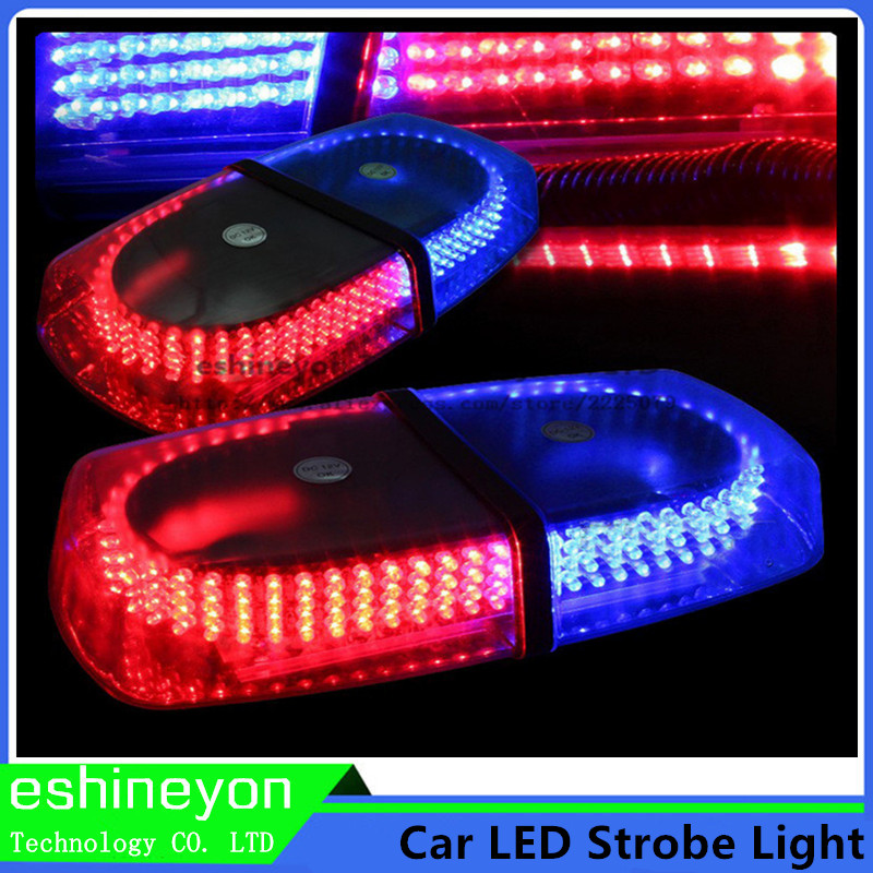 ФОТО Car Truck 12V Emergency Warning Beacon 240 LED Police Strobe Lights Bar Bright Amber Traffic Flasher Light Lamp Magnetic Base
