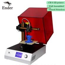 2017 Лидер продаж! 3D-принтеры CR-9 Полный Собранный закрытым бесшумные 3 D печать 3D с нити 8 г SD карты инструменты (creality 3D)