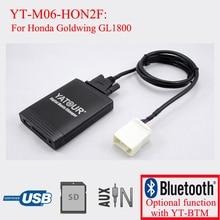 Yatour car stereo lettore digitale mp3 per honda goldwing gl1800 white female plug