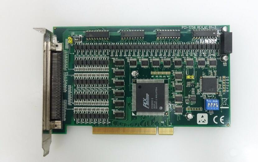 PCI-1756 REV. A1 Isolato Digitale IO PCI Carta di Bordo Ben Collaudato di LavoroPCI-1756 REV. A1 Isolato Digitale IO PCI Carta di Bordo Ben Collaudato di Lavoro