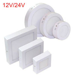 9 Вт 15 Вт 25 Вт Круглый/площадь поверхности светодиодный потолочный светильник Панель вниз света AC/DC12V /24 В светодиодный свет в помещении
