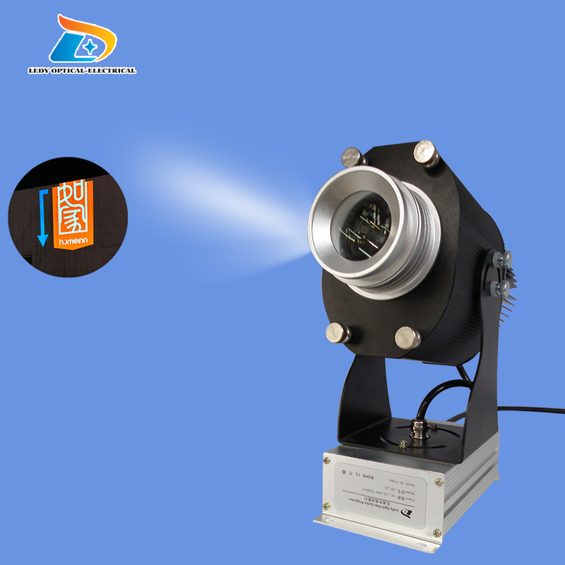 Low Price Outdoor Use Rotary Advertising Signs and Letters Projection Light 20W LED Gobo Image Projector