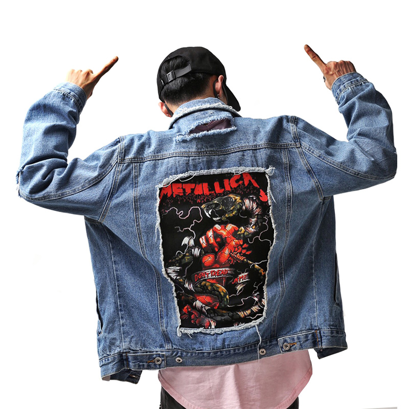 Popular Vintage Denim Jacket Patches Men-Buy Cheap Vintage Denim Jacket Patches Men Lots From ...