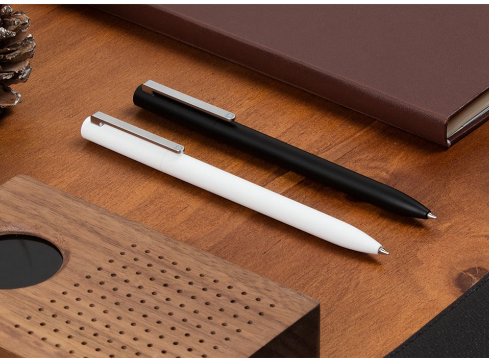 Original-Xiaomi-Mijia-Roller-Pen-with-0.5mm-Swiss-Refill-120-Degree-Rotation-143mm-Rolling-Ball-Pen-White- (4)