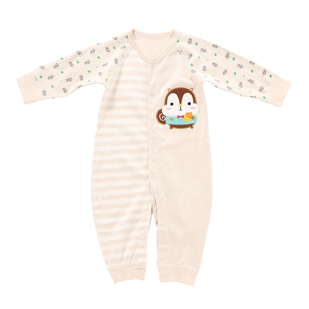100% Cotton Baby Romper Unisex Babysuit Baby Clothes Playsuit Rabbit Print Long Sleeve Spring Summer Autumn For Newborn Baby
