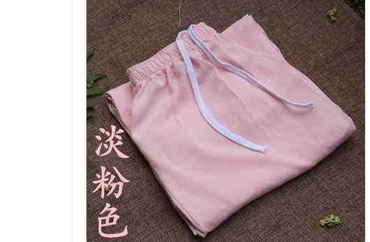 9色ユニセックス春&夏コットン&リネンカンフー武道ブルマ築く瞑想太極拳パンツズボン高品質