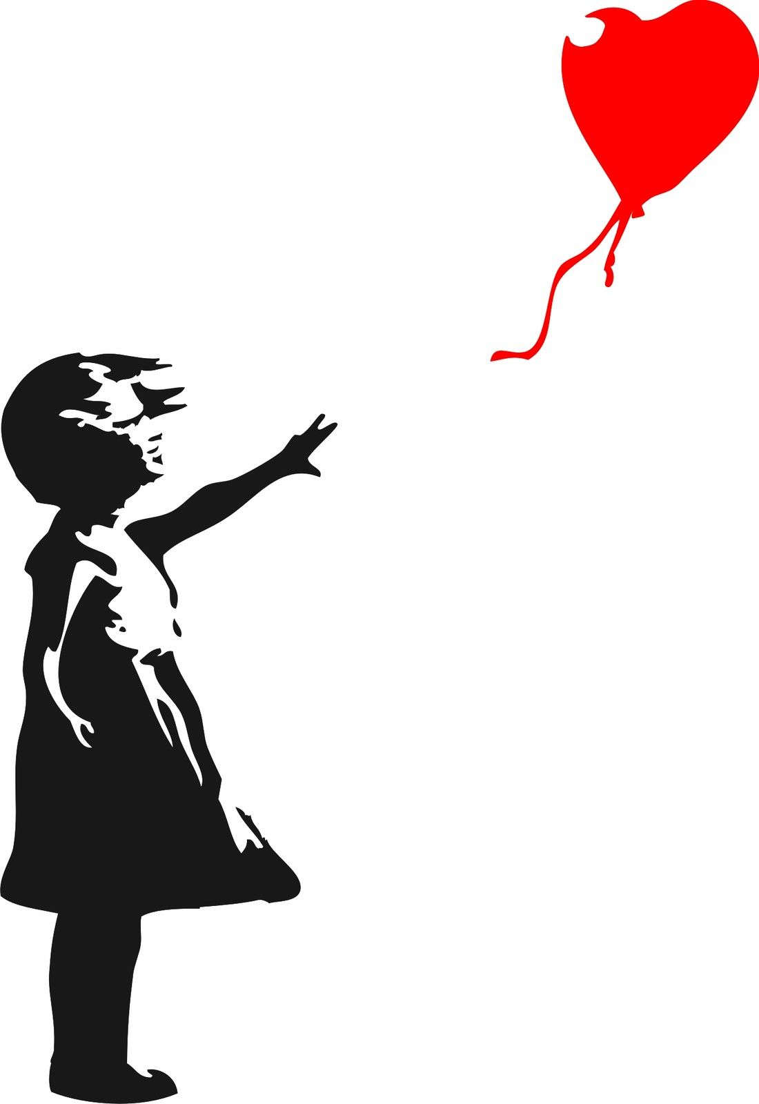 Hwhd 2016 New Banksy Childhood Girl With Balloon Vinyl