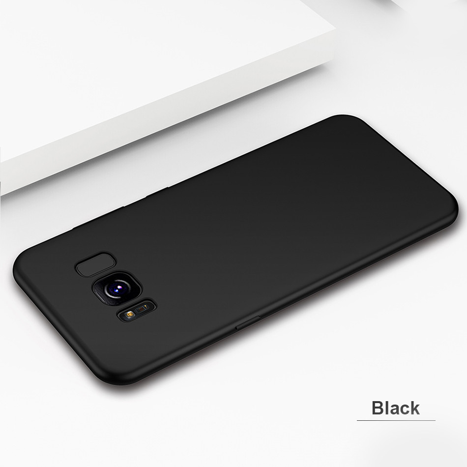 DOEES Matte Phone Case For Samsung Galaxy S8 S9 Plus Luxury Soft Silicone TPU Ultra Thin Cover For Samsung S7 Edge S8 S9 Plus (10)