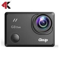 GitUp G3 Duo 2 К спортивные Камера с пользовательскими NDVI объектив про упаковка для сопоставления обзор 2017 вновь приходит Бесплатная доставка