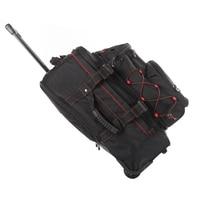 20inch Large Capacity Oxford Cloth Shoulder Bag Backpack Rucksack Luggage Suitcase Wheel Trolley Bag