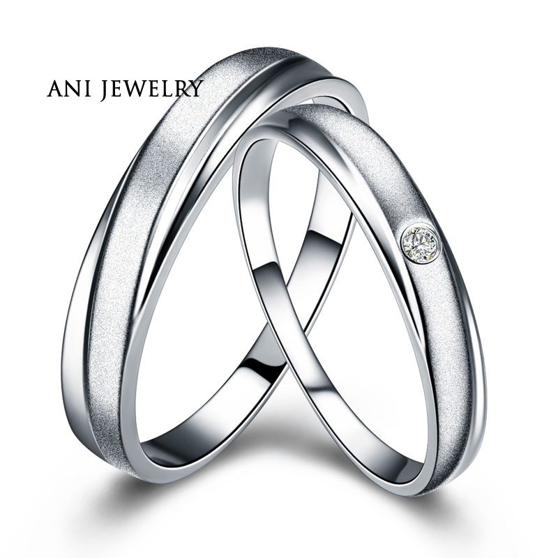 ANI 18K Rose Gold (AU750) Women Engagement Rings Natural Certified I-J/SI 0.1 CT Round Cut Diamond Men Wedding Band Couple Ring xxx 18k rose gold couple ring pure gold au750 ring tail ring wedding men and women jewelry gift for girlfriend support