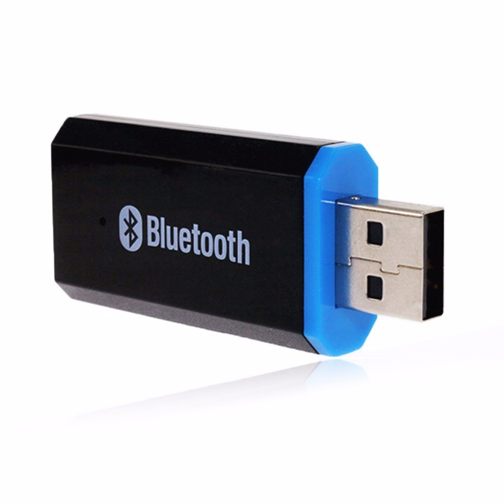 <font><b>Bluetooth</b></font> Adapter USB 3.5MM Interface Dual Output Car Audio Receiver Stereo Music Sound <font><b>Adaptor</b></font> Handsfree For iPhone Android <font><b>PC</b></font>