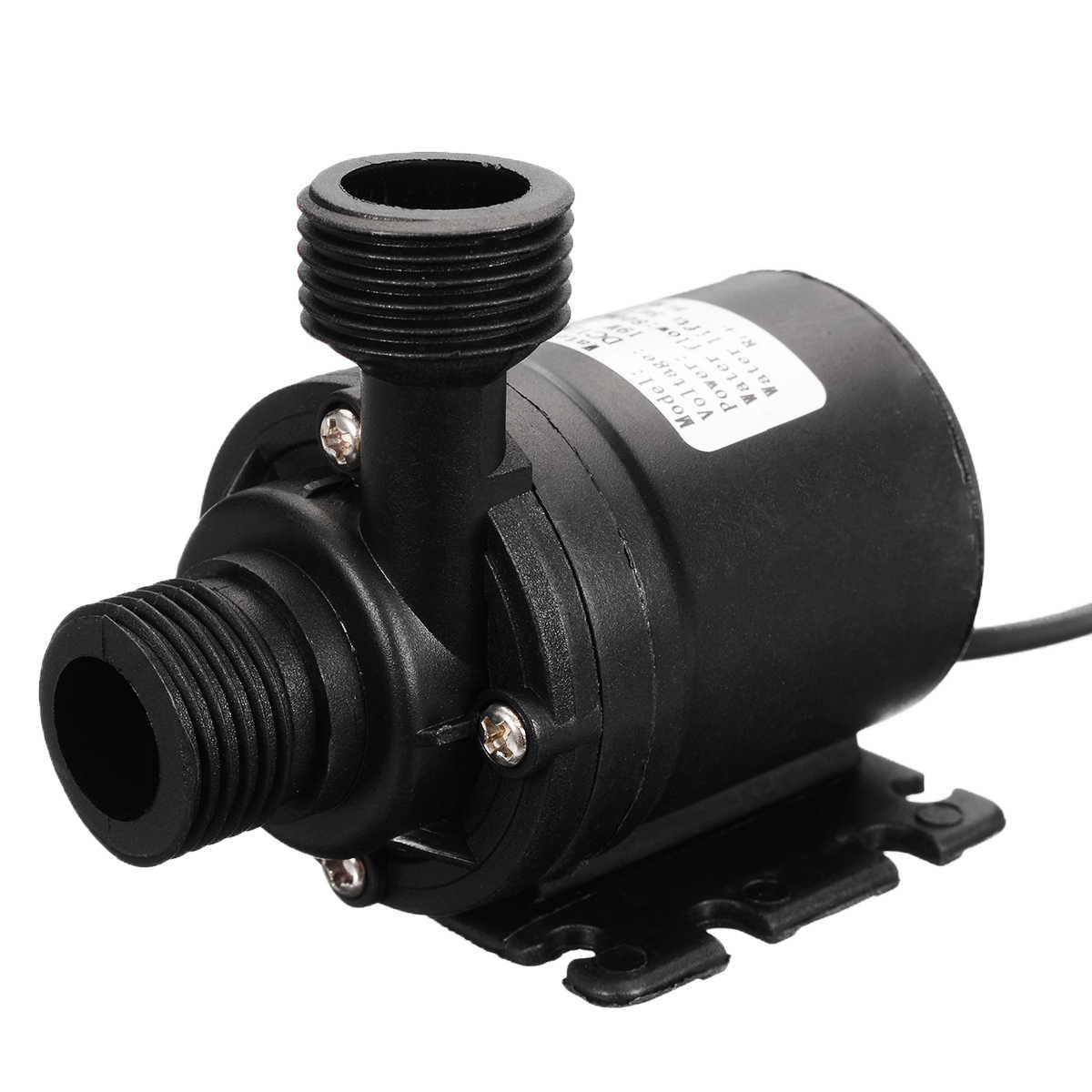 Mini Ultra Quiet DC 12V 1000L//H Flow Rate Waterproof Water Circulation Pump