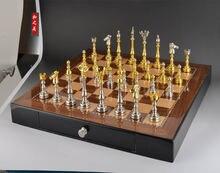 Шахматный набор высокого качества с нескладной деревянной шахматной