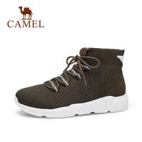 CAMEL 2018 Snow Boots Women Winter New Casual Boots Short Shoes Women Flat Heel Keep Warm Boots Snow Short Shoe s
