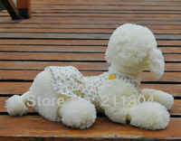 Freeshipping 1pc Retail 55cm Plush Poodle Dog Stuffed Animal Best Gift To Friend Large Size