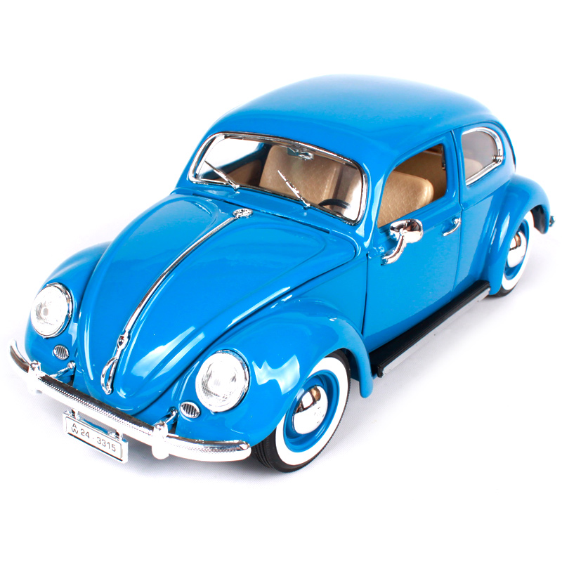 Maisto Bburago 1:18 Volkswagen Beetle Retro Classic Car Diecast Model Car Toy New In Box Free Shipping 12029 автомобиль bburago 1 18 gold volkswagen touareg 18 12002