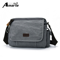 Men S Bag Vintage Canvas Fashion Shoulder Bag Famous Brand Men Messenger Bags Crossbody Bag Male