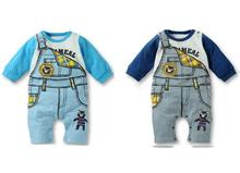 Fashion Baby Newborn Babysuits Long Sleeve Jumpsuits Cartoon Panda Style Cotton Cool Infant Bodysuit Top Quality