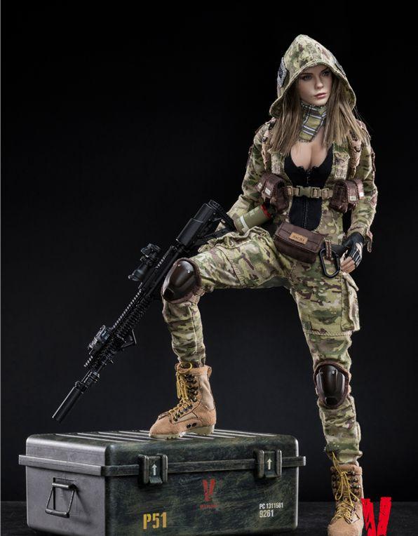 1:6 Scale Figure Accessory VERYCOOL VCF-2031 Villa HeadSculpt Model Toy