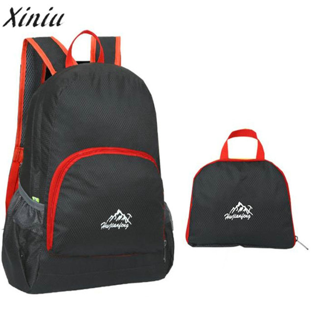 d6812931d39f XINIU New Best Selling Simple Vintage Designer Stylish Luxury Waterproof  Bionic Camouflage Pattern Folding Backpack Package Bag