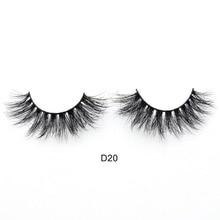 Handmade 3D Luxury Mink Eyelashes