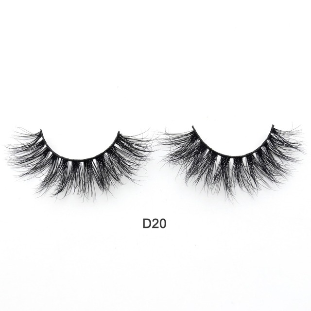Visofree Eyelashes 3D Mink Lashes Luxury Hand Made Mink Eyelashes Medium Volume Cruelty Free Mink False Eyelashes Upper Lashes 4