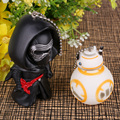 BB-8 BB8 Robot Black Knight Darth Vader de Star Wars Action Figure Keychain