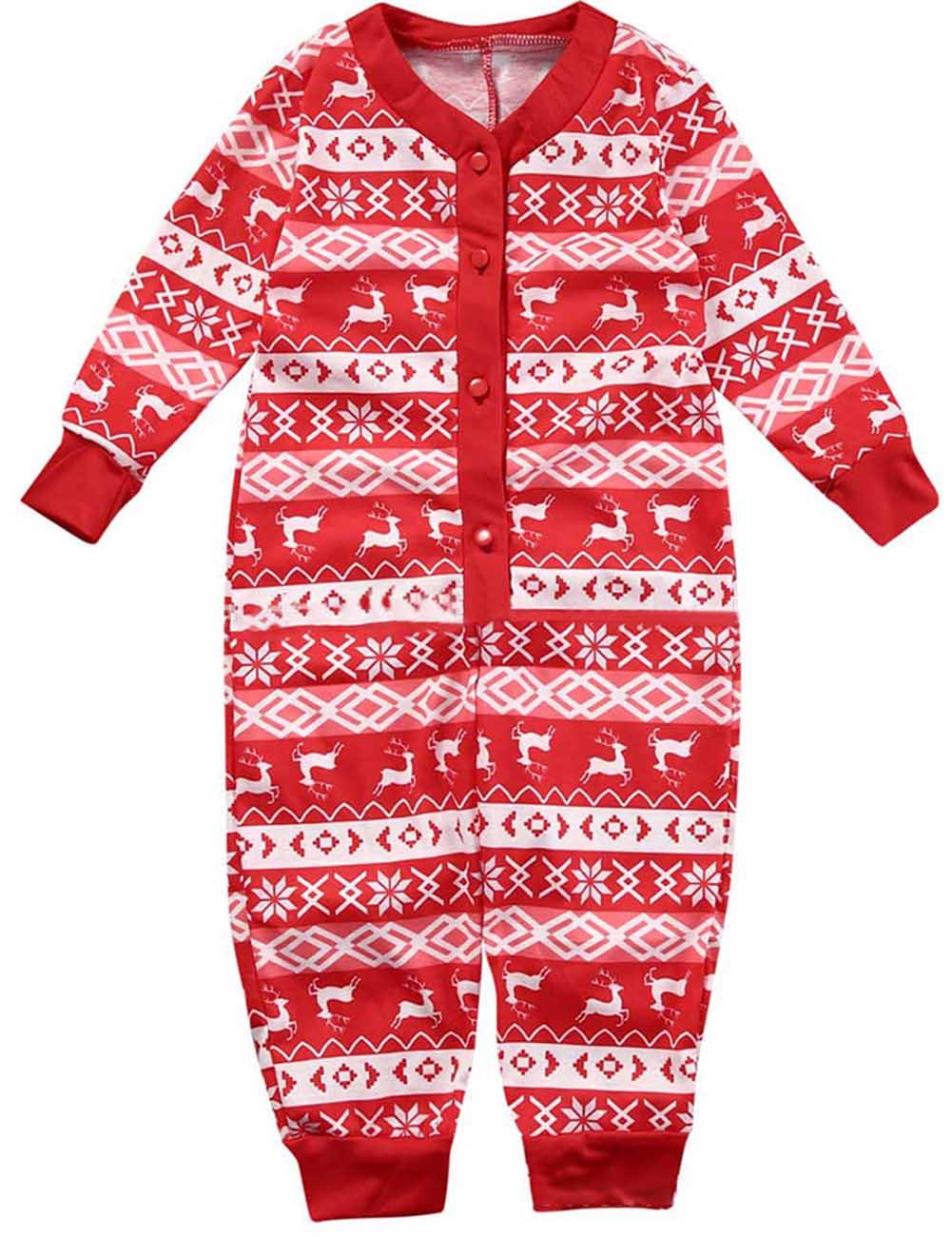2018 New Christmas Pajamas Set Women Men Baby Kids Family Plaid Pyjamas Kids Photography Clothes Set