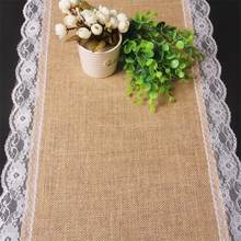 European LinenTea Linen Table Runner Chair yarn Wedding Christmas Party Banquet Decoration events supplies Table Accessries(China)