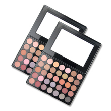 Newest Beauty Glazed  35 Color Shades Studio Makeup Eyeshadow Palette Highlighter Shimmer Make up Pigment Eye Shadow Pallete