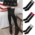 cheap over knee-high wholesale cotton slip-resistant girl student fashion socks