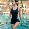 361 женский спортивный купальник, черный цельный купальный костюм, устойчивый к хлору, для девушек, для гонок, для соревнований