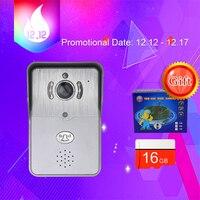 Wireless IP Doorbell With 720P Camera Video Intercom Phone WIFI Door Bell Night Vision IR Motion