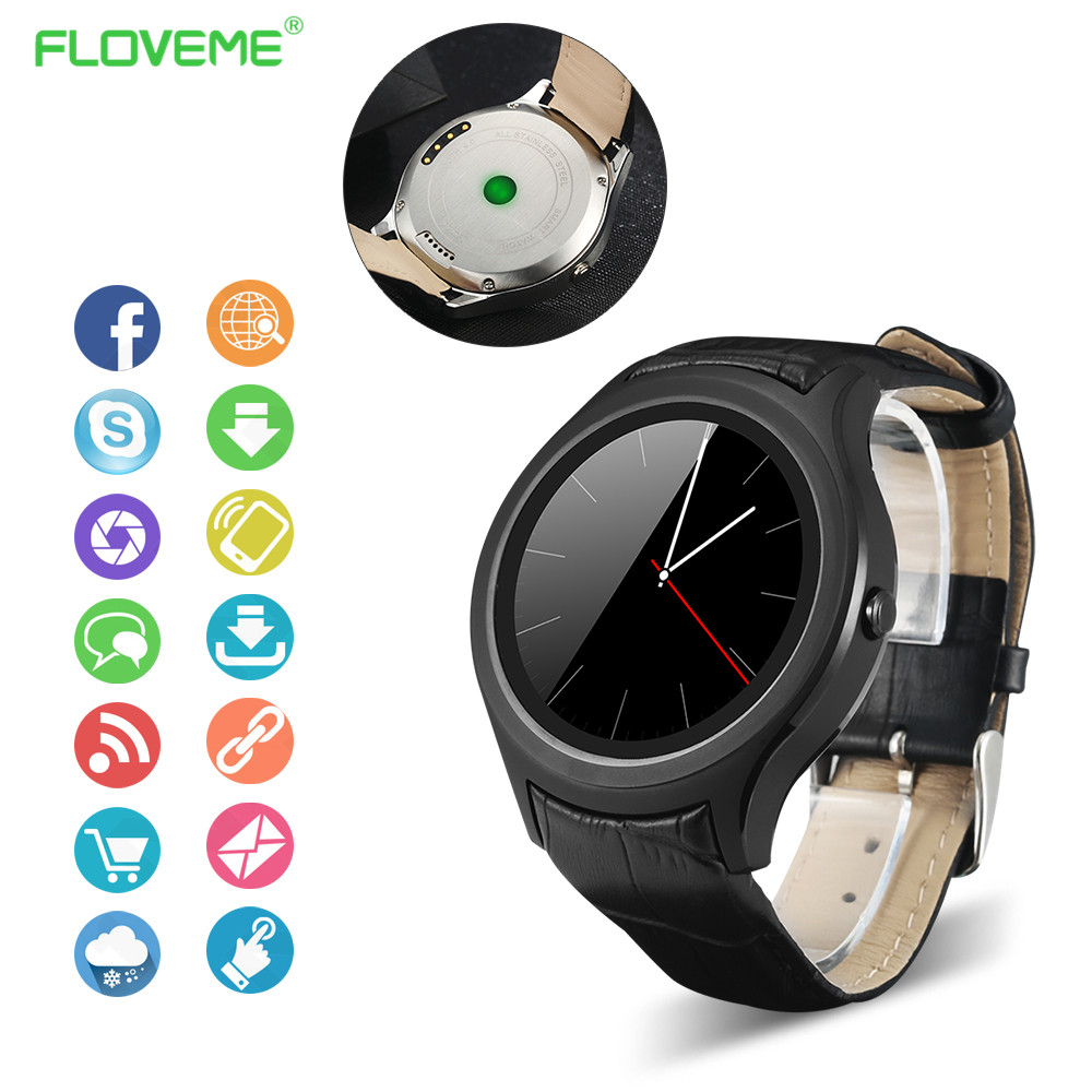 Smart Watch For Android 4 4 Bluetooth font b Smartwatch b font MTK6572 For Android iOS