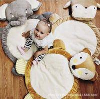 Bebek Geyik Oyun Halısı Oyuncak Children'day Tırmanmaya Çocuklar Toddler Battaniye Kapak Kızlar Gelişmekte INS Halı tapis lapin Yastık
