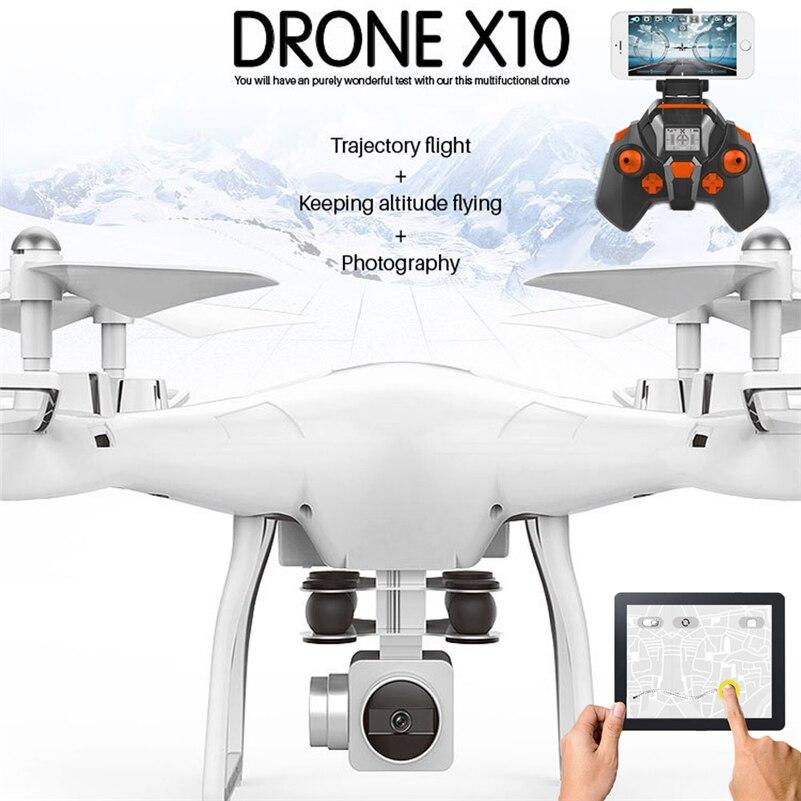 Wi-Fi Fpv Qualcopter Дрон в реальном времени с камерой Квадрокоптер дроны Fpv Безголовый Дрон игрушка лучший подарок для детей