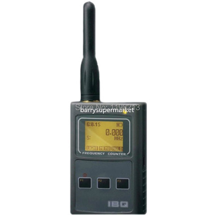 Upgraded Two Way Radio Frequency Counter IBQ102 Wide Test Range 10MHz-2600MHz Sensitive Portable Frequency Meter