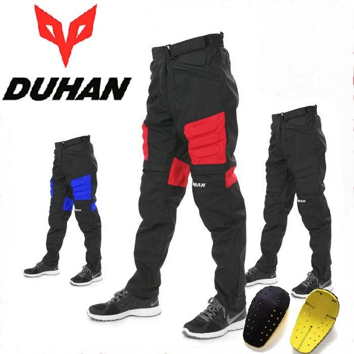 ФОТО wearproof 600D oxford DUHAN DK02 motorcycle knights motocross pants motocicleta biker sport trousers Moto equipment & knee