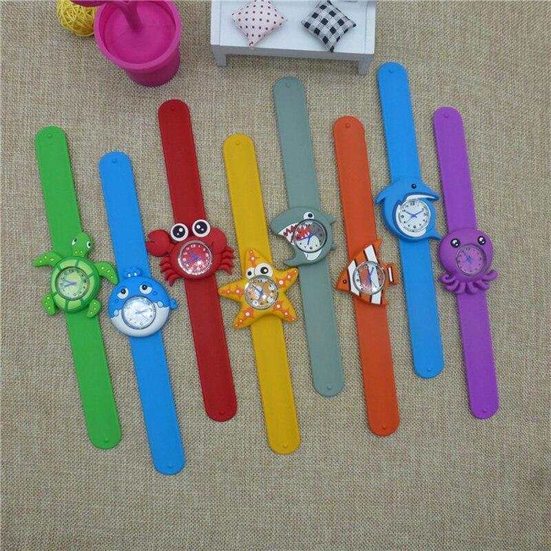 Montre Enfant 3D Animals Cartoon Kids Wrist Watch Bracelet Baby Watch Clock Quartz Watches For Girls Boys Gifts Children Watches